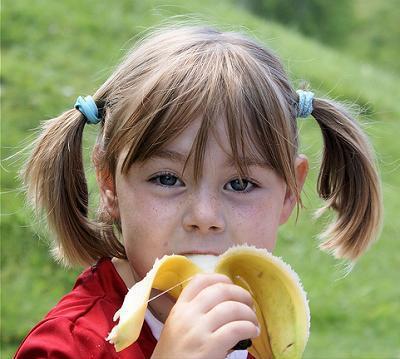 Meriendas saludables para los niños
